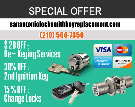 Our Services Location - San Antonio Locksmith Key Replacement